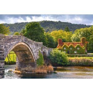 Castorland - Селски чар в Уелс - 1000 части - картина