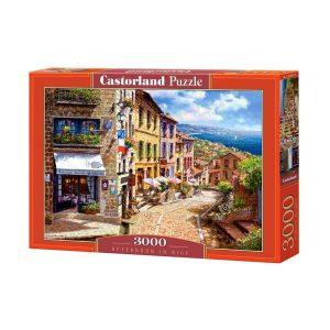 Castorland - Следобед в Ница - 3000 части - кутия