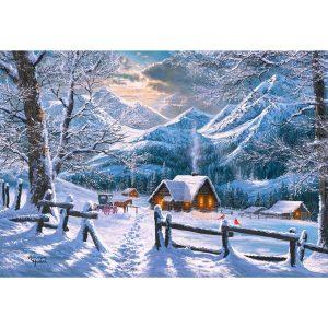 Castorland - Снежно утро - 1500 части - картина