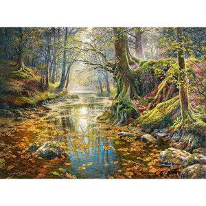 Castorland - Със спомен на есенна гора - 2000 части - картина