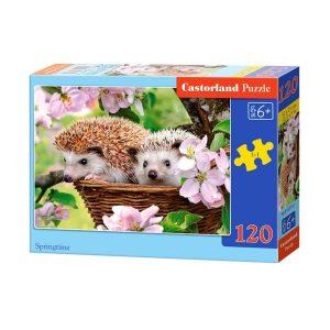 Castorland - Таралежчета - 120 части - кутия