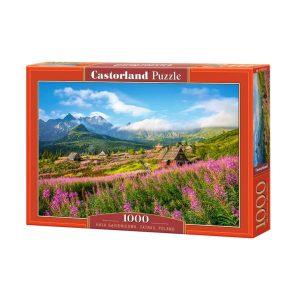 Castorland - Татрите, Полша - 1000 части - кутия