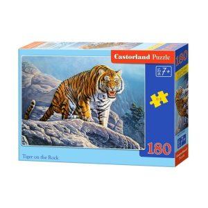 Castorland - Тигър на скалите - 180 части - кутия