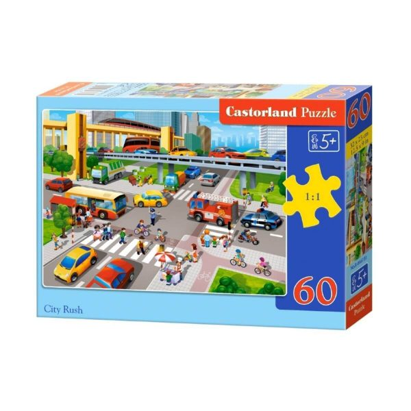 Castorland - Трафик - 60 части - кутия