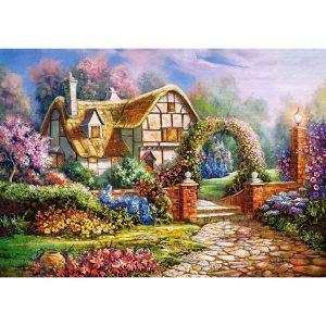 Castorland - Уилтширски градини - 500 части - картина