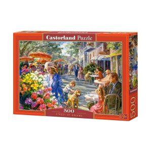 Castorland - Улицата на мечтите - 500 части - кутия