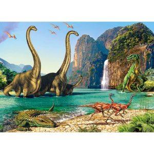 Castorland - В света на динозаврите - 60 части - картина