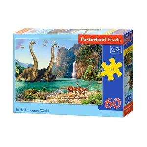 Castorland - В света на динозаврите - 60 части - кутия