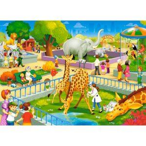 Castorland - В зоопарка - 60 части - картина