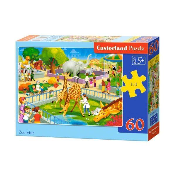 Castorland - В зоопарка - 60 части - кутия
