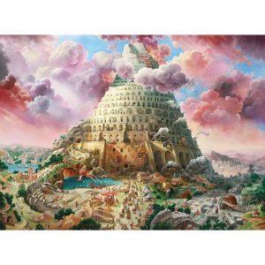 Castorland - Вавилонската кула - 3000 части - картина