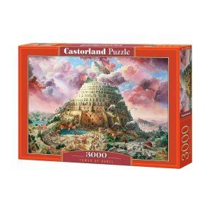 Castorland - Вавилонската кула - 3000 части - кутия