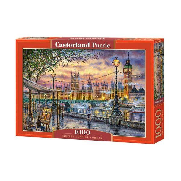 Castorland - Вдъхновения от Лондон - 1000 части - кутия