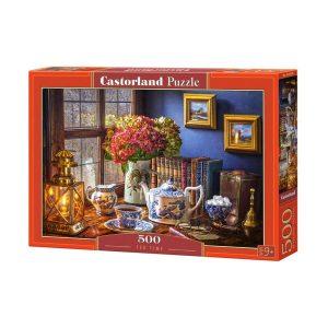 Castorland - Време за чай - 500 части - кутия