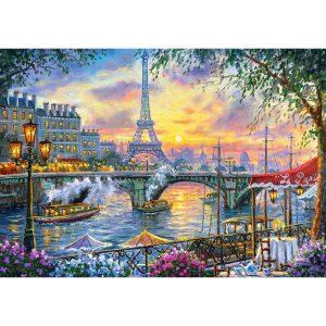 Castorland - Време за чай в Париж - 500 части - картина