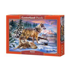 Castorland - Вълча приказка - 500 части - кутия