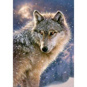 Castorland - Вълк единак - 500 части - картина