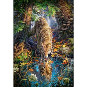 Castorland - Вълк в дивото - 1500 части - картина