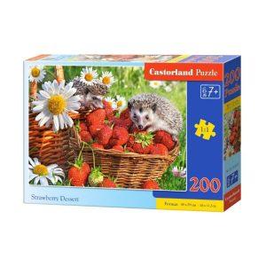 Castorland - Ягодов десерт - 200 части - кутия