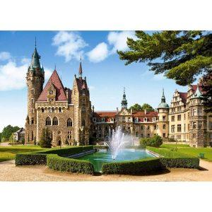 Castorland - Замъкът Мозна, Полша - 1500 части - картина