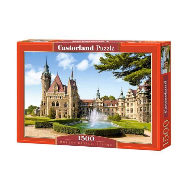 Castorland - Замъкът Мозна, Полша - 1500 части - кутия