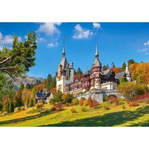 Castorland - Замъкът Пелеш, Румъния- 500 части - картина