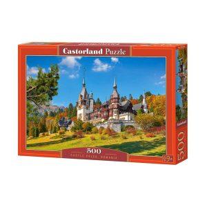 Castorland - Замъкът Пелеш, Румъния- 500 части - кутия