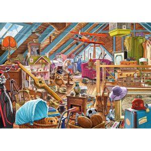 Castorland - Затрупаното таванско помещение - 500 части - картина