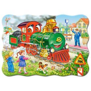 Castorland - Зелен локомотив - 30 части - картина