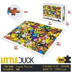 Jigsaw Puzzle - Малко пате - 1000 части