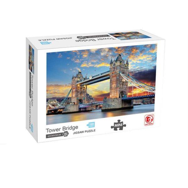 Jigsaw Puzzle - Тауър Бридж - 1000 части - кутия