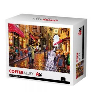 Jigsaw Puzzle - Улица с кафенета - 1000 части - кутия
