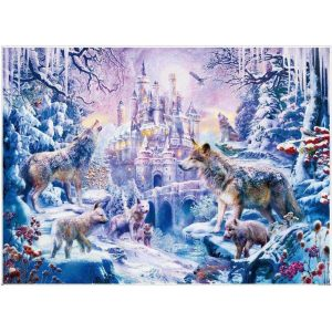 Jigsaw Puzzle - Замъкът на вълците - 1000 части - картина