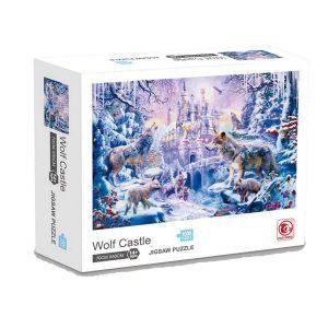 Jigsaw Puzzle - Замъкът на вълците - 1000 части - кутия