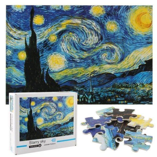Jigsaw Puzzle - Звездна нощ - 1000 части