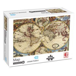 Jigsaw Puzzle - Карта - 1000 части - кутия