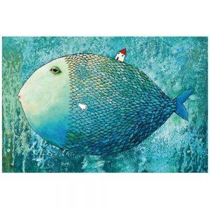 Jigsaw Puzzle - Мини пъзел - Риба - 1000 части - картина