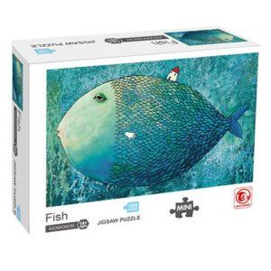 Jigsaw Puzzle - Мини пъзел - Риба - 1000 части - кутия