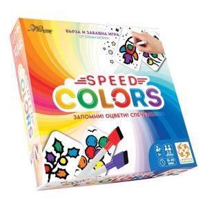 Настолна игра Speed Colors - кутия