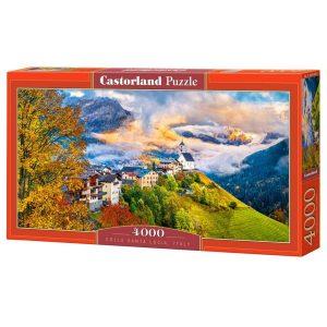 Castorland - Коле Санта Лучия, Италия - 4000 части - кутия