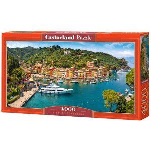 Castorland - Гледка към Портофино - 4000 части - кутия