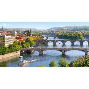 Castorland - Мостовете над река Вълтава - 4000 части - картина