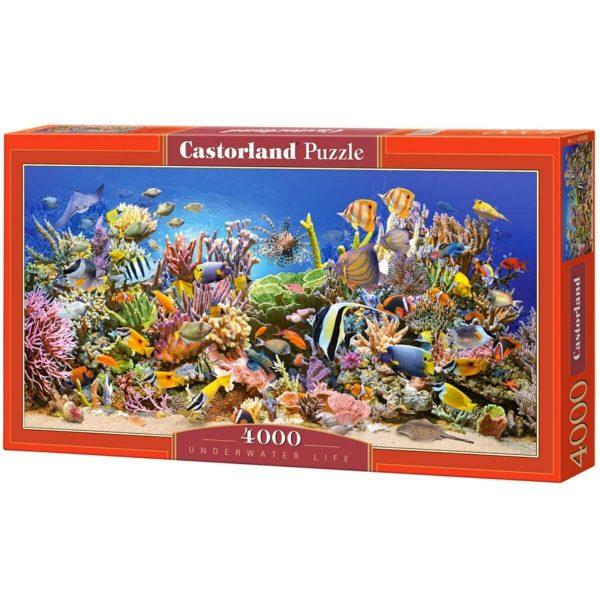 Castorland - Подводен свят - 4000 части - кутия