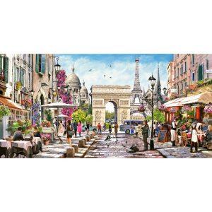 Castorland - Същността на Париж - 4000 части - картина
