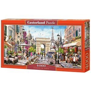 Castorland - Същността на Париж - 4000 части - кутия