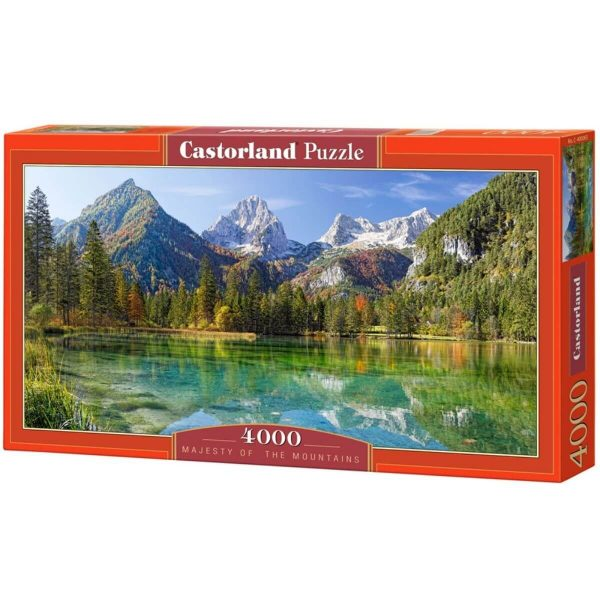 Castorland - Величието на планината - 4000 части - кутия