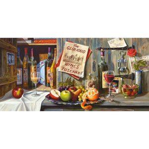 Castorland - Винтидж червени италиански съкровища - 4000 части - картина