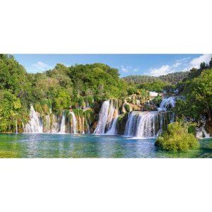 Castorland - Водопадите в Крка, Хърватия - 4000 части - картина