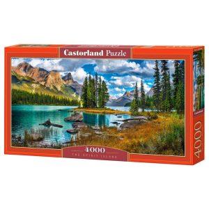 Castorland - Загадъчният остров - 4000 части - кутия