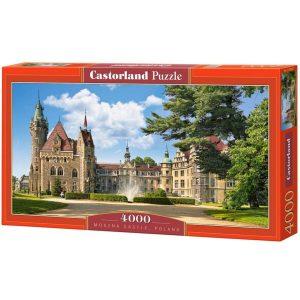 Castorland - Замъкът Мозна, Полша - 4000 части - кутия